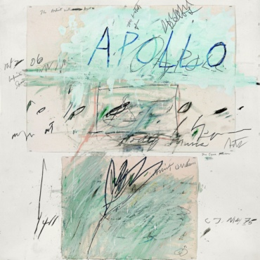 TWOMBLY - Apollo and the Artist (1975, Roma)