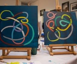 Atelier peinture abstraite et team building